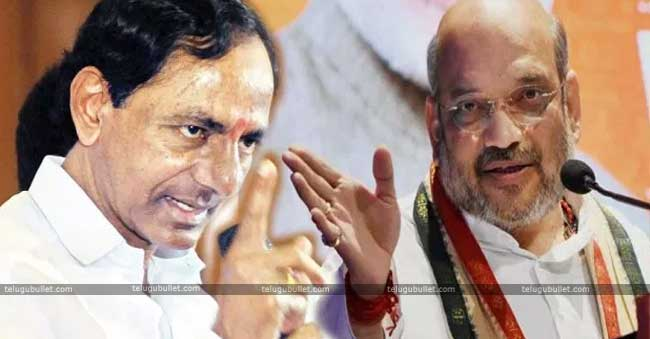 Amit Shah Supports KCR At The Centre