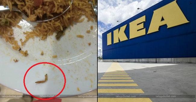 """Caterpillar In Biryani"" FSSAI Show Cause Notice To IKEA @Hyderabad"
