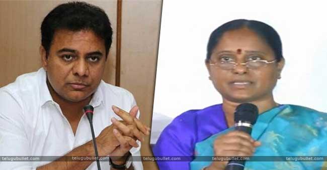 Konda Surekha Blames KTR For His Ticket Denial