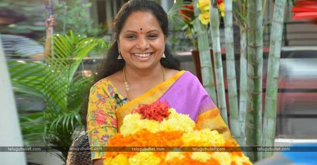 "Kavitha Wants Bathukamma As ""Google Doodle"""
