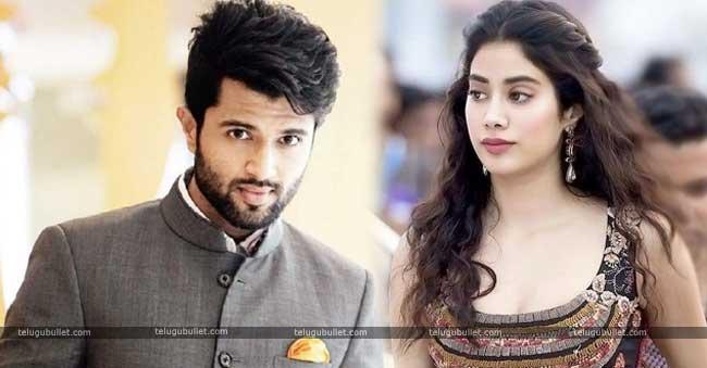 Vijay Devarkonda To Romance With Jahnavi Kapoor