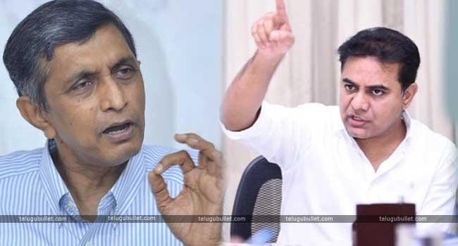KTR Strong Reply To Jaya Prakash Narayan Is Going Viral