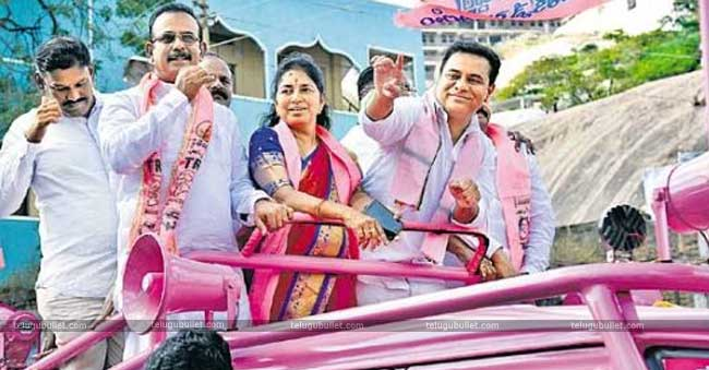 KTR also reminded about Raythu Bandhu