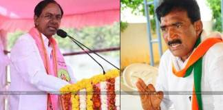 opposition member to KCR in Gajwel