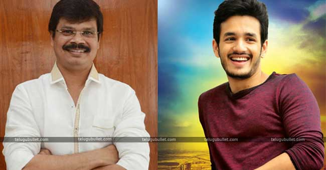 Boyapati Sreenu Responds On Teaming Up With Akhil For His Next