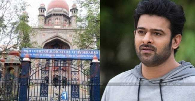 Prabhas's Guest House Case Update: HC Orders T-State To File Counter