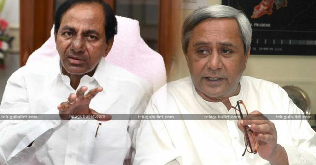 KCR Received An Unexpected Jolt From Odisha CM