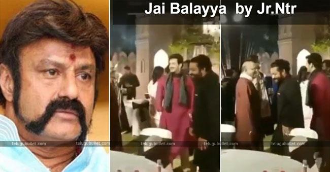 Tarak shouts Jai Balayya: Nandamuri fans are in seventh heaven