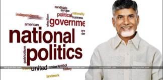 chandrababu naidu shirted to national politics