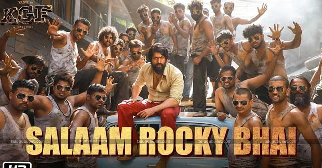 After The Flick, Now The Song Salaam Rocky Bhai Rocking India