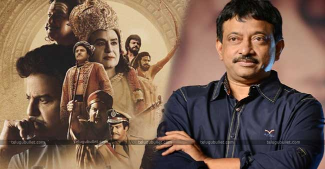 RGV Failing To Get Attention Amidst NTR Biopic's Release