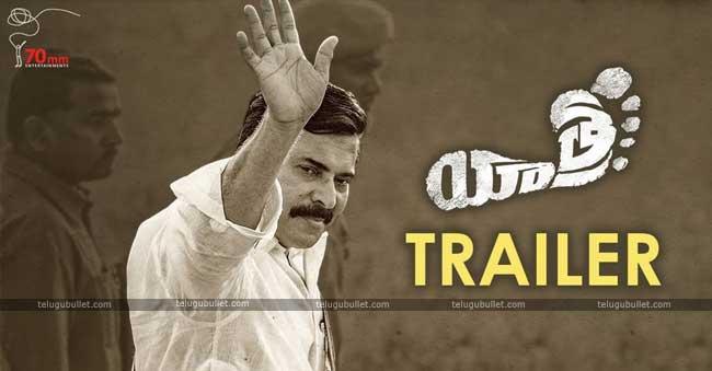 Trailer Talk: Yatra Is All About YSR historical Padayatra