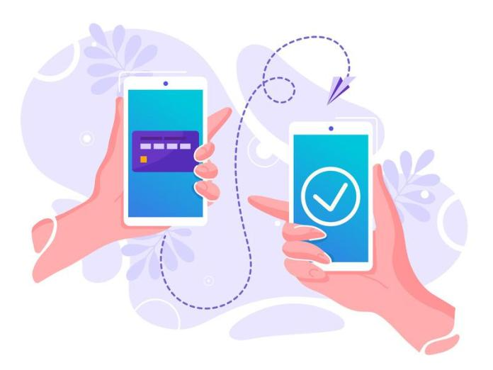Transfer funds via phone without internet