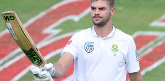 Aiden Markram warms up for Tests with brisk century on another rain-hit day