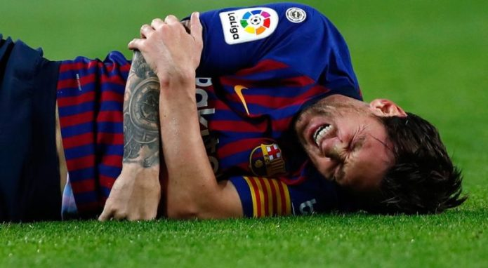 Injured Lionel Messi a doubt for Inter clash : Sources