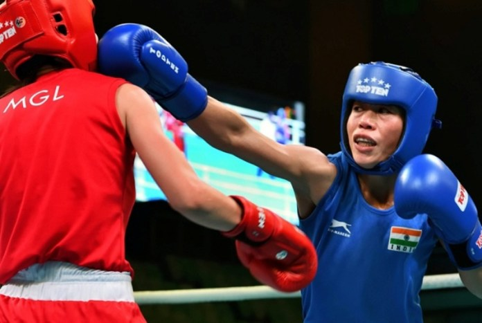 Mary Kom secures historic 8th world medal after reaching semifinal