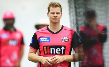Steven Smith Signs with Sydney Sixers for BBL 2019-20
