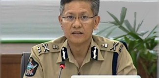 AP DGP Goutam SawangPolice detained two men for throwing stones at Chandrababu's convoy