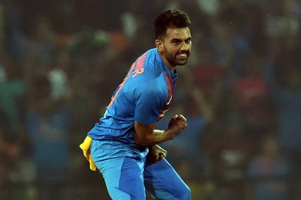 Chahar ruled out of final ODI due to lower back pain