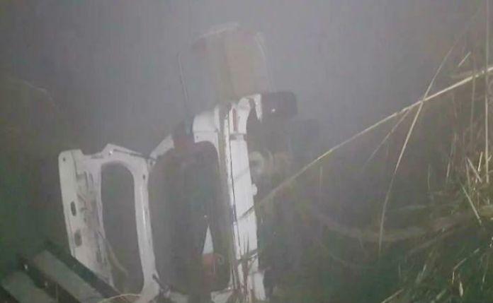 6 Dead After Car Falls Into Canal Near Delhi Due To Fog