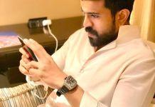 Ram Charan share his cooking skills