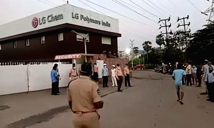 4 Andhra Ministers, 2 MPs spend night in gas leak-hit villages