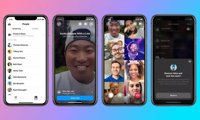 Facebook Messenger Rooms now available in Instagram