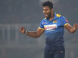 Sri Lankan police have detained international cricketer