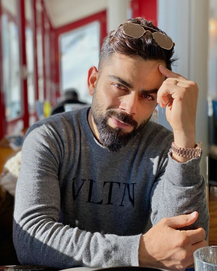 Virat Kohli's post was flooded with hilarious responses from fans