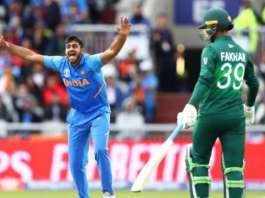 High Voltage clash between India and Pakistan in Manchester