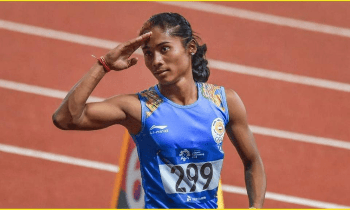 Hima Das dedicates upgraded gold medal to COVID-19 warriors