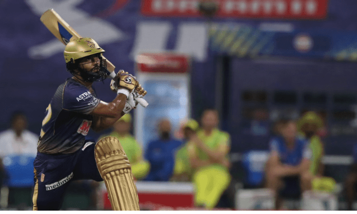 Opener Tripathi guides KKR to close win over CSK