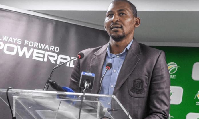 Victor Mpitsang appointed CSA convenor of selectors