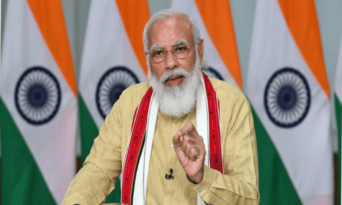 Modi speaks to Telangana BJP chief, enquires about GHMC polls