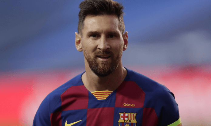 Messi shown first red card of Barcelona career