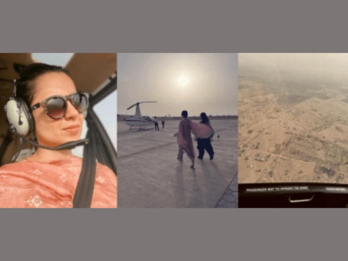 Kangana Ranaut starts 'Tejas' shoot in Rajasthan