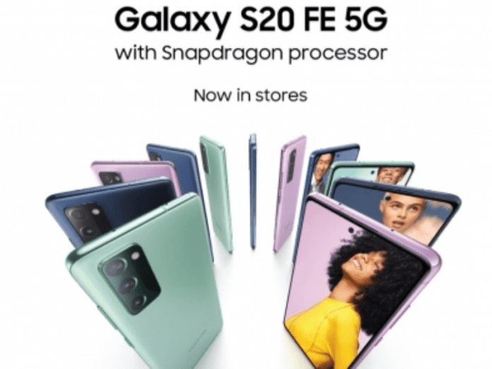 Samsung Galaxy S20 FE 5G with Snapdragon 865 SoC launched