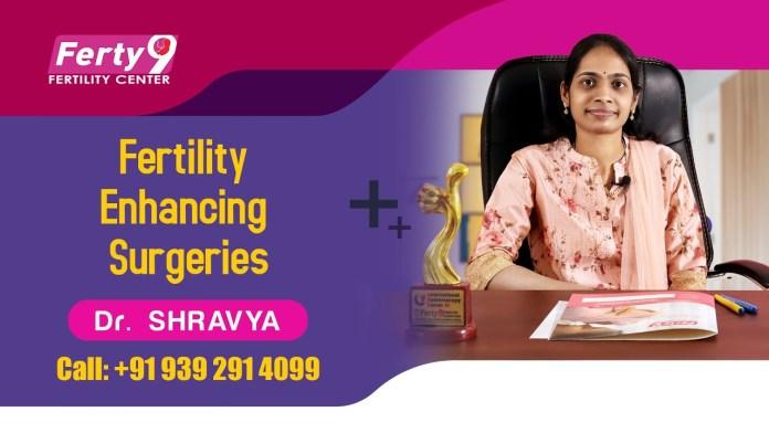 Fertility Enhancing Surgeries :  Dr. Shravya