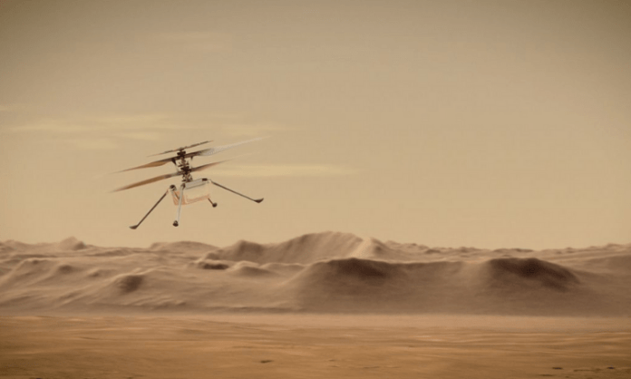 NASA's Ingenuity helicopter completes 8th flight on Mars