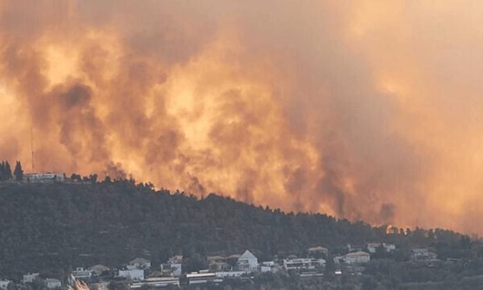 Thousands evacuated due to massive wildfire near Jerusalem