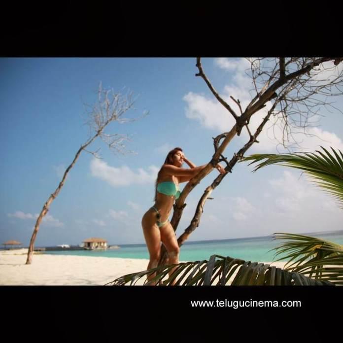 Disha Patani's beach look