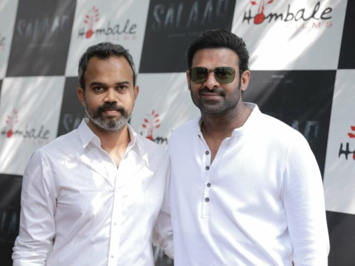 Prabhas's Salaar launched formally