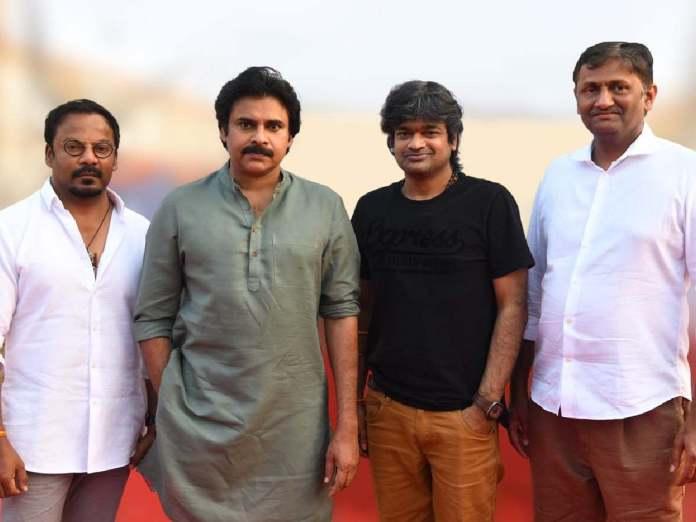 Anand Sai and Pawan Kalyan