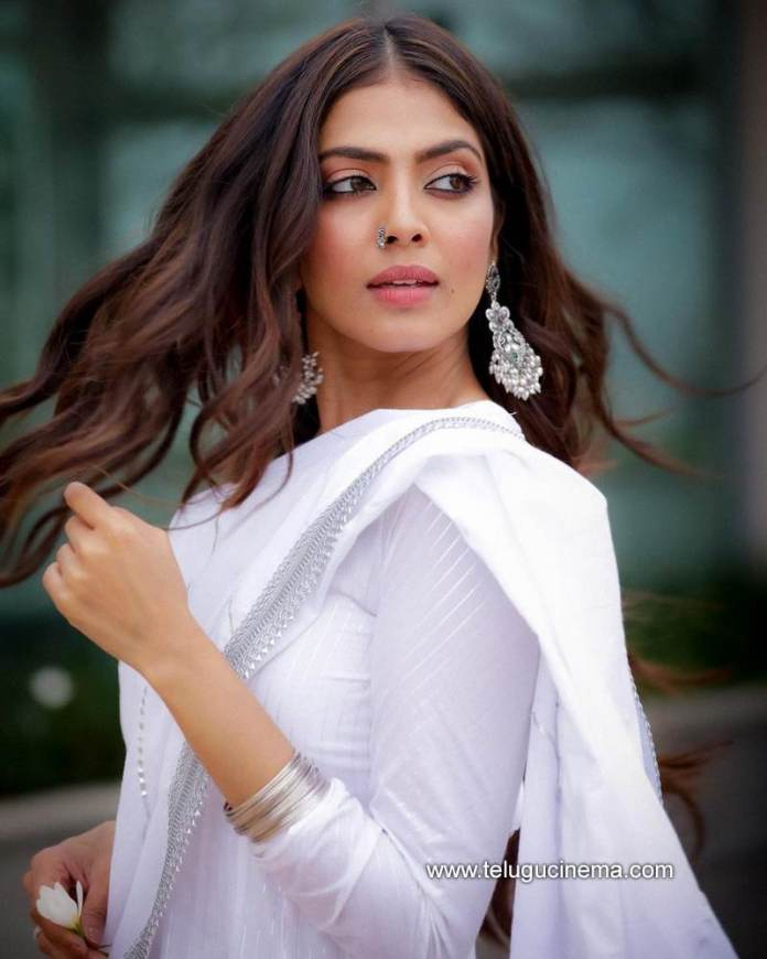 Malavika Mohanan looks bright in a white outfit