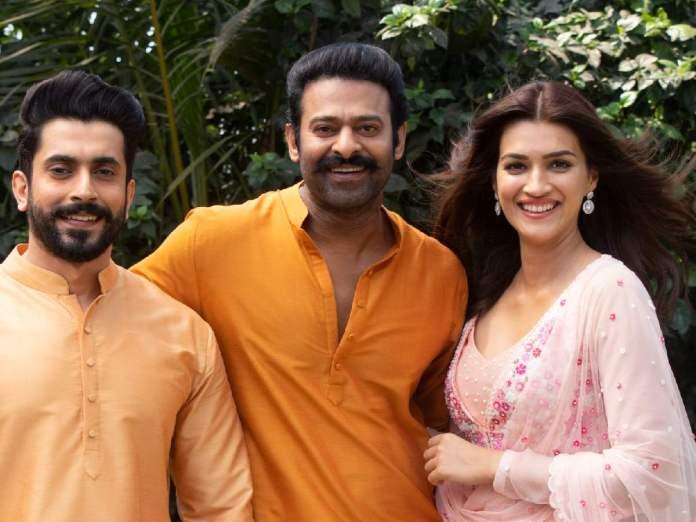 Prabhas, Kriti Sanon and Sunny Singh