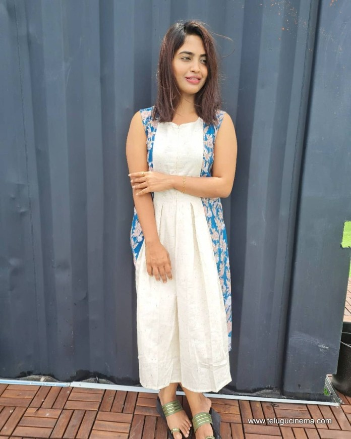 Dethadi Harika's casual stills