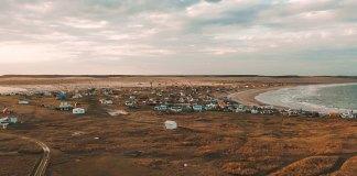 Vista do Farol de Cabo Polonio
