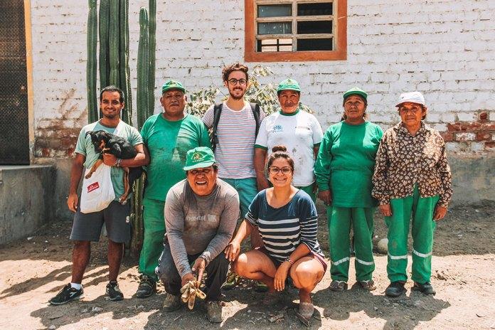 Voluntariado na Ciudad Saludable. Ong peruana que profissionaliza recicladores.