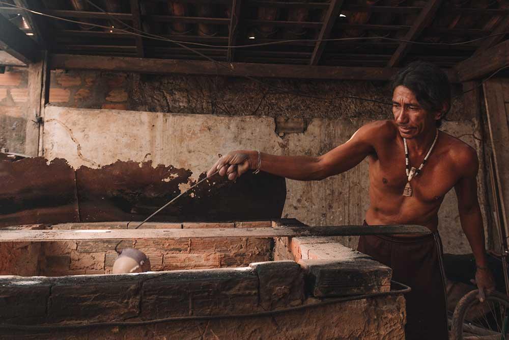Artesanato em cerâmica Marajoara, tradição na Ilha de Marajó