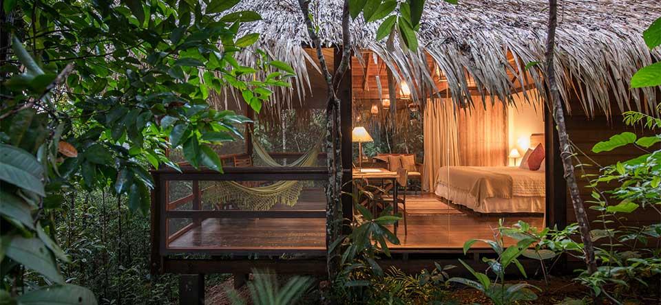 Imersão na Floresta faz parte da realidade de quem se hospeda no Anavilhanas Lodge